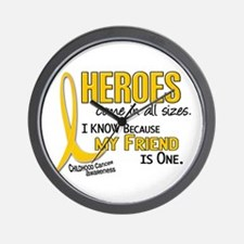Heroes All Sizes 1 (Friend) Wall Clock
