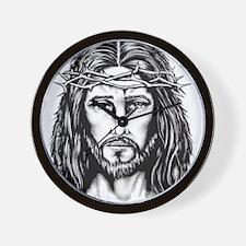 Jesus Crown of Thorns Wall Clock
