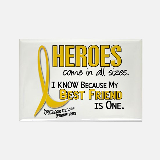 Heroes All Sizes 1 (Best Friend) Rectangle Magnet