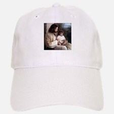 Jesus & a Child Baseball Baseball Cap