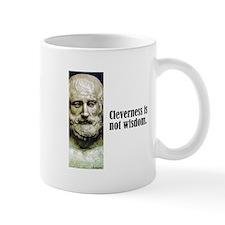 """Euripides """"Cleverness"""" Mug"""