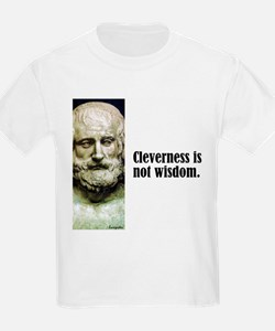 "Euripides ""Cleverness"" T-Shirt"