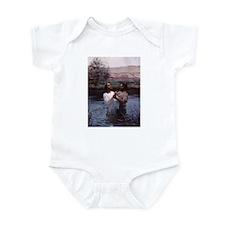 Jesus Baptism River Jordan Infant Bodysuit