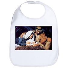 Christmas Jesus Birth Stable Bib