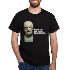 """Euripides """"Friends Show"""" T-Shirt"""