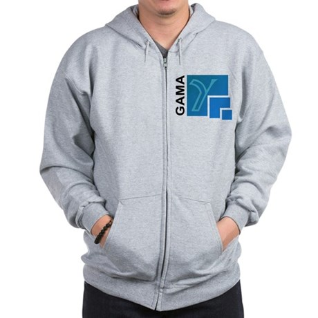 Dawn Mission Patch Zip Hoodie