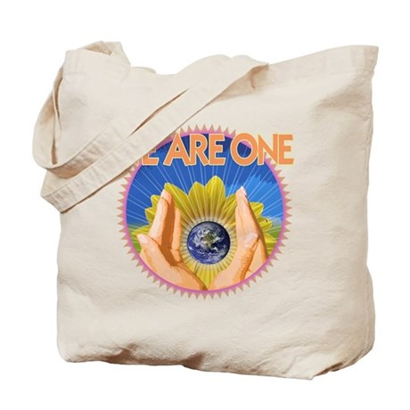 """One Love Peace"" Tote Bag"