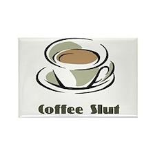 Coffee Slut Rectangle Magnet