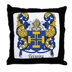 Teixeira Family Crest Throw Pillow