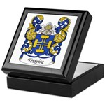 Teixeira Family Crest Keepsake Box