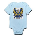 Teixeira Family Crest Infant Creeper