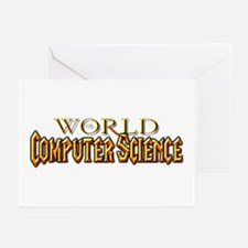 World of Computer Science Greeting Cards (Pk of 10