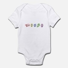 Signing Peace Infant Bodysuit