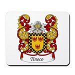 Tinoco Family Crest Mousepad