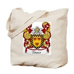 Tinoco Family Crest Tote Bag