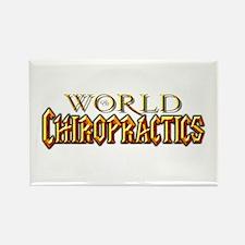 World of Chiropractics Rectangle Magnet