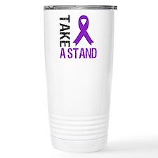 PancreaticCancer TakeAStand Travel Mug