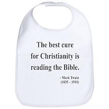 Mark Twain Text 20 Bib