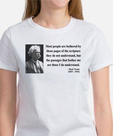 Mark Twain 21 Women's T-Shirt