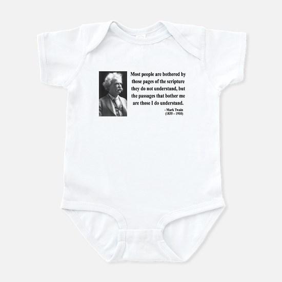 Mark Twain 21 Infant Bodysuit