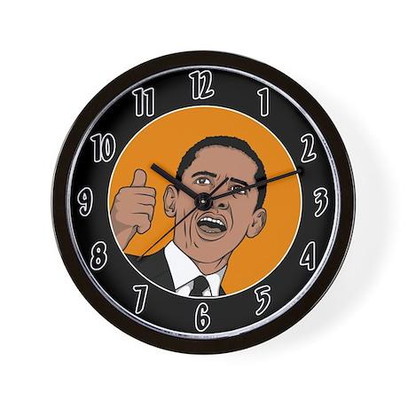 Obama Clocks Wall Clock