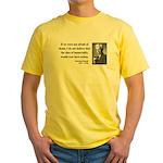 Bertrand Russell 5 Yellow T-Shirt