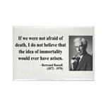 Bertrand Russell 5 Rectangle Magnet (10 pack)