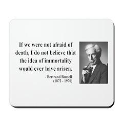 Bertrand Russell 5 Mousepad