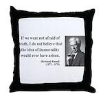 Bertrand Russell 5 Throw Pillow