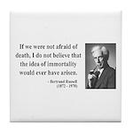 Bertrand Russell 5 Tile Coaster