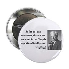 """Bertrand Russell 8 2.25"""" Button"""