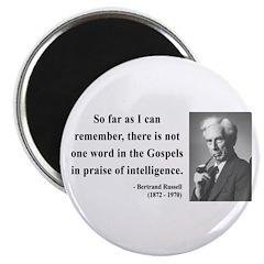 "Bertrand Russell 8 2.25"" Magnet (100 pack)"