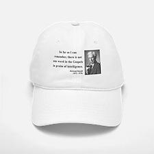 Bertrand Russell 8 Baseball Baseball Cap