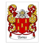 Torres Family Crest Small Poster