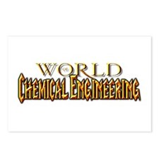 World of Chemical Engineering Postcards (Package o
