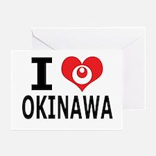 Cute Okinawa Greeting Cards (Pk of 10)