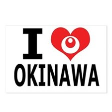 Cute Okinawa Postcards (Package of 8)