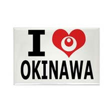 Cute Okinawa Rectangle Magnet (10 pack)