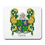 Varela Family Crest Mousepad