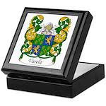 Varela Family Crest Keepsake Box