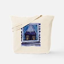 COONHOUND window Tote Bag