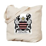 Vasconcelos Family Crest Tote Bag