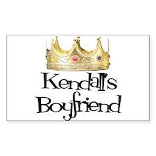 Kendall's Boyfriend Rectangle Decal