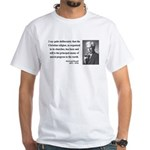 Bertrand Russell 12 White T-Shirt