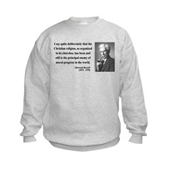 Bertrand Russell 12 Sweatshirt