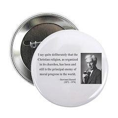 """Bertrand Russell 12 2.25"""" Button (100 pack)"""