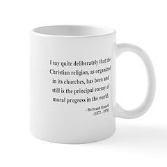 Bertrand Russell 12 Mug