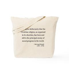 Bertrand Russell 12 Tote Bag