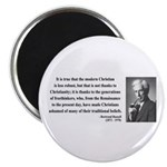 "Bertrand Russell 14 2.25"" Magnet (10 pack)"