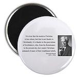 Bertrand Russell 14 Magnet